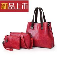 简约手提包子母包大容量三件套女包单肩包