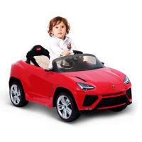 星辉儿童电动车四轮可坐 遥控车可坐电动汽车 可充电童车 小孩电动车 兰博基尼自驾儿童电瓶车