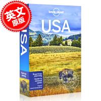 现货 孤独星球 美国旅行指南 10版 2018年出版 英文原版 Lonely Planet USA 10 旅行攻略 自
