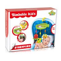 新款多功能0-1岁婴幼儿床铃移动树叶吊铃 室内外通用益智玩具.