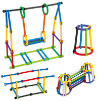 338-2拼装百变聪明棒320根手提箱装儿童3-6岁益智积木玩具