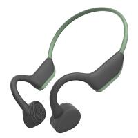 骨传导耳机无线蓝牙5.0男女跑步运动型挂耳式超长待机防水双耳不入耳无痛挂脖式耳机骨传感华为 标配