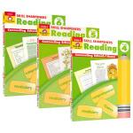 Evan-Moor Skill Sharpeners Reading Grade 4-6 3册 美国加州儿童英语教辅