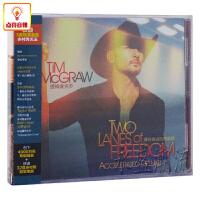 正版音乐 Tim McGraw提姆麦克罗 通往自由的两条路CD