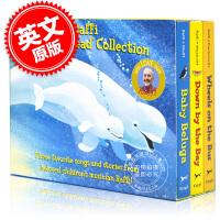 现货 Raffi 英文原版 儿歌绘本套装(3本) 硬纸书 Raffi Songs to Read Boxed Set