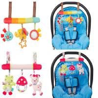 床挂 宝宝智益玩具动物床绕车挂 婴幼儿安全座椅挂件毛绒玩具