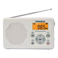 熊猫6105英语四级六级听力考试专用收音机学生调频大学生考级四六级便携式4级6级fm校园小型广播上海高考 白色