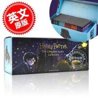现货 哈利波特系列1-7 有声读物 100CD 进口音频 英文原版 Harry Potter The Complete