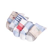 儿童袜子春秋薄款3-5-7-9岁男女童宝宝袜子非纯棉吸汗防臭潮
