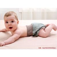 婴儿尿布裤宝宝防漏裤新生儿尿布兜布尿裤