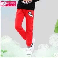 童裤子女中大童长裤卫裤外穿新款韩版儿童装女童运动裤春秋