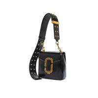 手提包女款手拎包复古时尚宽肩带机车包时装周单肩斜挎包手提包小包