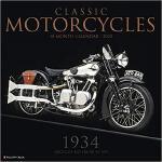 【预订】Classic Motorcycles 2020 Wall Calendar 9781549205927