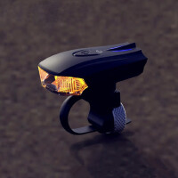 自行车灯感应前灯山地车强光usb充电单车灯夜骑LED手电筒配件装备