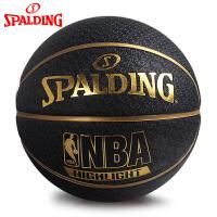 斯伯丁篮球官方正品耐磨室外nba7号水泥地比赛专用非真皮牛皮73-901Y