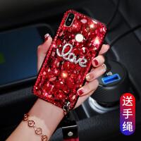 红米note6pro手机壳Note6Pro外套noto6pro软壳redmi男女not6p水钻