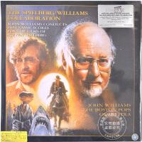 现货 [中图音像]约翰・威廉斯与斯皮尔伯格 天作之合(透明彩胶版) 2LP Spielberg/Williams Co