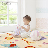 宝宝爬行垫加厚婴儿爬爬垫 儿童地垫客厅家用动物交通拼接防摔垫