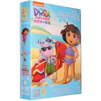 版朵拉dvd高清碟片爱探险的朵拉第6季5DVD儿童双语动画光盘