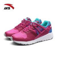 安踏女鞋休闲鞋秋季碎花时尚透气防滑耐磨跑步鞋运动鞋12638801