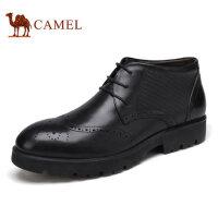 camel 骆驼男靴秋冬新品英伦复古轻盈舒适商务男靴 男士短靴
