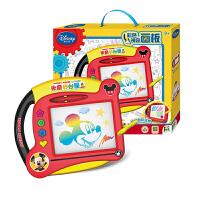 迪士尼Disney 彩色涂鸦板 磁性写字板儿童绘画学习工具 神奇画板早教益智男孩玩具米奇DS-1590