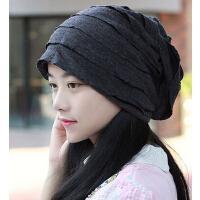 男女通用加绒情侣头巾帽 包头帽套头光头男帽 女帽护耳朵孕妇帽