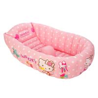 Hellokitty凯蒂猫宝宝浴盆 婴儿浴盆 充气玩具洗澡盆HEB32422粉红 60厘米以下婴儿使用