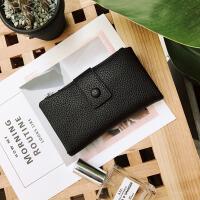 女士钱包2017韩版新款pu长款钱包时尚简约手拿包订单现货批发