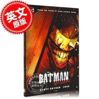 现货 狂笑蝙蝠 英文原版 The Batman Who Laughs DC漫画 黑暗蝙蝠侠 金属大事件 黑暗多元宇宙