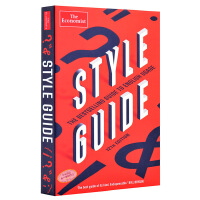 【中商原版】经济学人系列:风格指南 英文原版 The Economist Style Guide: 12th Edit