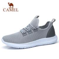 camel 骆驼男鞋春季新品时尚跑步运动鞋休闲缓震轻盈健步鞋男