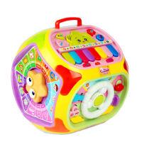台智慧学习屋七面体儿童早教机0-1-3岁宝宝 多功能带音乐玩具