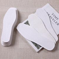 透气吸汗男女士棉鞋垫棉布鞋垫夏季运动舒适耐磨替换鞋垫 如图