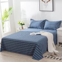 天床单 单件被单子纯棉棉斜纹布加厚2米x2.3薄款卡通可爱