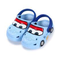 男童�鐾闲�1-2�q3�q防滑小童幼�����洞洞鞋迪士尼汽��和�拖鞋夏