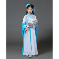 新款汉服古装仙女襦裙戏曲服古典水袖舞蹈仙女演出服装对襟襦裙