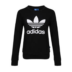 Adidas阿迪达斯女装 三叶草运动休闲卫衣套头衫 BP9490