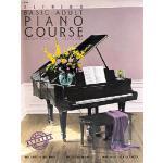 【预订】Alfred's Basic Adult Piano Course Lesson Book, Bk 1