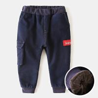 儿童牛仔裤宝宝休闲裤冬装童装男童裤子长裤