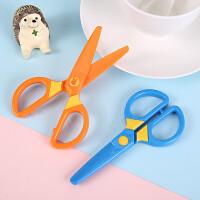 晨光儿童剪刀 手工剪纸刀 米菲圆头塑料剪刀 FSS91304 单把 颜色随机
