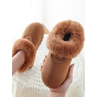 棉拖鞋女冬季室内外穿情侣包跟防滑家居家月子鞋保暖户外雪地靴男