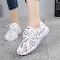 2019新款老北京布鞋女鞋休闲运动鞋女软底透气女网鞋小白鞋女布鞋 白色 网鞋