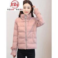 2018新款外套女冬季短款加厚棉袄韩版反季羽绒女装面包服棉衣