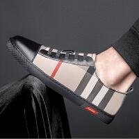 皮鞋男鞋透气商务运动休闲正装鞋韩版百搭牛皮板鞋中青年男士透气男平底单鞋