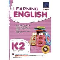 SAP Learning English K2 新加坡教辅 学习系列幼儿园英语练习册 5-6岁 大班 新亚出版社教辅