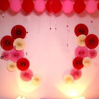 节日派对用品生日婚庆家居婚房新房装饰布置拉花