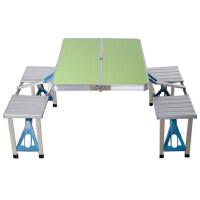 户外折叠桌椅组合便携式铝合金桌椅套装野餐摆摊 支持礼品卡支付