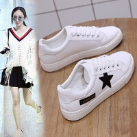 大东同款小白鞋女单鞋春秋新款韩版百搭板鞋平底学生休闲系带女鞋