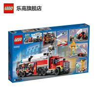 【当当自营】LEGO乐高积木城市组City系列60282消防移动指挥车